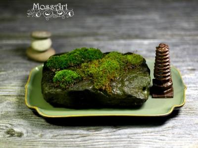 Zen - Wood Sculpture - Pagoda - Tower - Miniature Statue